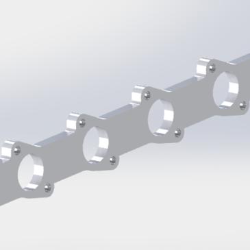 M20 exhaust manifold flange
